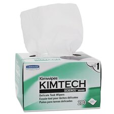 Kimtech Science Kimwipes Delicate Task Wipers - 280 Wipes per Box / 60 Boxes