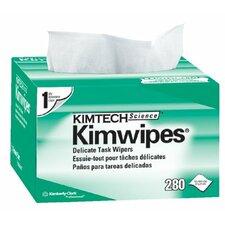 "Kimtech Science® Kimwipes® Delicate Task Wipers - 4.5""x8.5"" white kimwipesex-l 1-ply 280/b"