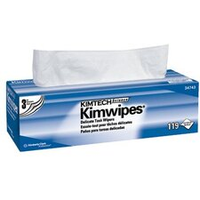 "Kimtech Science® Kimwipes® Delicate Task Wipers - 12""x 12"" pop-up box kaydry ex-l delicate ta"