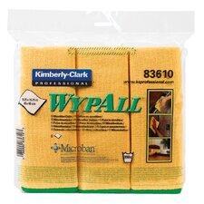 WypAll® Microfiber Cloths - c- wyall microfiber clotgold 6wiper/bg
