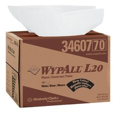 "WypAll® L20 Wipers - wipers  12.5""x16.8""176wiper box"