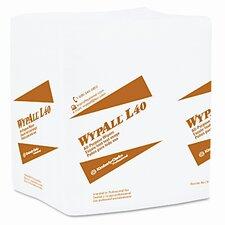 Professional* Wypall L40 Cloth-Like Wipes, 100/Box, 9/Carton