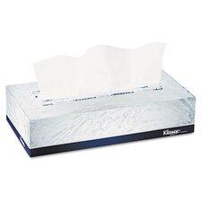 Professional Kleenex Facial 2-Ply Tissue - 125 Tissues per Box / 48 Boxes per Carton
