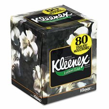 Professional Kleenex Lotion Facial 3-Ply Tissue - 75 Sheets per Box (Set of 2)