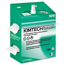 Professional* Kimtech Science Kimwipes Lens Cleaning, 1120 Wipes/Box, 4/Carton