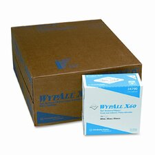 Professional* Wypall X60 Wipers, 126/Box, 10/Carton
