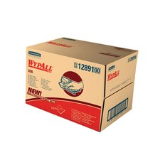 Wypall X90 Cloths Industrial, 136/Box in White