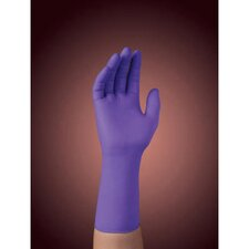 Nitrile Xtra Exam Medium Gloves in Purple
