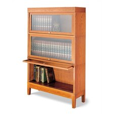 "800 Sectional Series 53.5"" Barrister Bookcase"