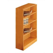 "1100 NY Series 48"" Standard Bookcase"