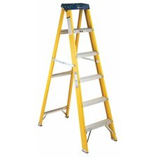 6 ft Fiberglass Step Ladder with 250 lb. Load Capacity
