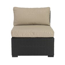 Hector Armless Chair Sectional with Cushions