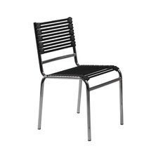 Bungie-S Armless Flat Stacking Chair (Set of 4)