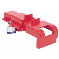 North Safety - B-Safe Butterfly Valve Lockouts Blue Butterfly Valve Lockout: 068-Bs04B - blue butterfly valve lockout