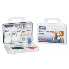First Aid Kits - 25 person bulk first aid kit plastic case