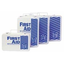 16 Unit Steel First Aid Kits - steel 16 unit unitized first aid kit standard fi