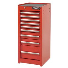 "15"" Wide 9 Drawer Bottom Cabinet"