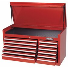 """54"""" Wide 12 Drawer Top Cabinet"""