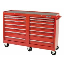 """54"""" Wide 14 Drawer Combination Cabinet"""