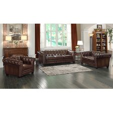 Exeter 3 Piece Living Room Set