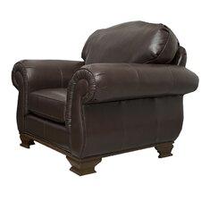 Fairfield Italian Leather Arm Chair