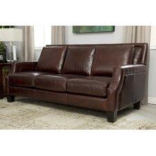 Salem Italian Leather Sofa