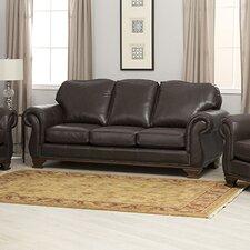 Fairfield Italian Leather Sofa