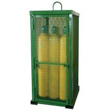 """85"""" H x 32"""" W x 42"""" D Propane Cylinder Storage Cabinet"""