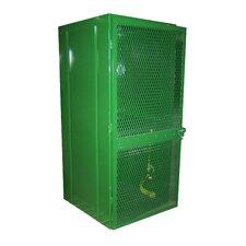 """72"""" H x 32"""" W x 32"""" D Cylinder Storage Cabinet"""