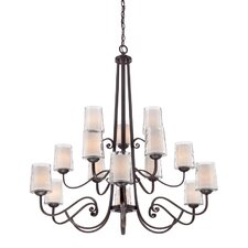 Adonis 15 Light Candle Chandelier