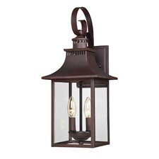 Chancellor 2 Light Wall Lantern