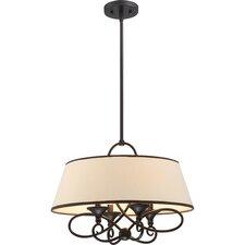 Capri 4 Light Pendant
