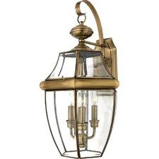 Newbury 3 Light Wall Lantern