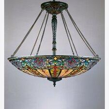 Tiffany 8 Light Inverted Pendant