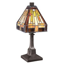 """Stephen 1 Light 11.5"""" H Table Lamp with Square Shade"""