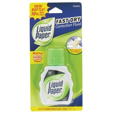 0.74 oz. White Liquid Correction Fluid in White (Set of 6)