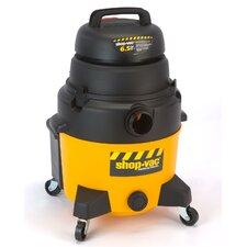 Industrial Super Quiet 8 Gallon 6.5 Peak HP Wet / Dry Vacuum