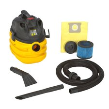 Right Stuff 5 Gallon 5.5 Peak HP Portable Wet / Dry Vacuum