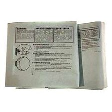 3 Pack 10 To 14 Gallon Disposable Filter Bags