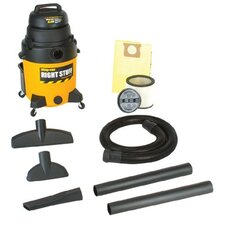 Industrial Wet/Dry Vacuums - 10 gal. 4 peak hp rightstuff vac