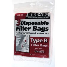 All Around Disposable Collection Filter Bags