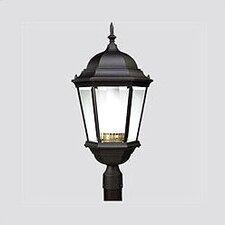 Welbourne 1 Light Glass Post Lantern