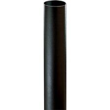 "Black Bollard for Path Light (4-3/4"" x 28-3/8"")"