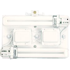 Wall Pocket System Surface Mount Back Plate for Magnetic Ballasts