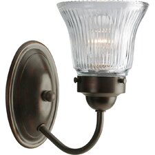 Wall Sconce in Antique Bronze