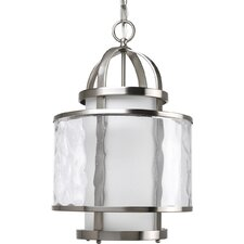 Thomasville Bay Court  Pendant in Brushed Nickel