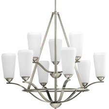 9 Light Moments Chandelier