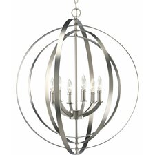 Equinox 6 Light Large Foyer Pendant