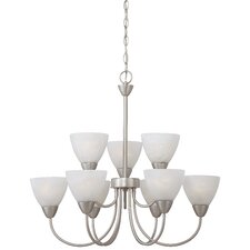 Tia 9 Light Chandelier
