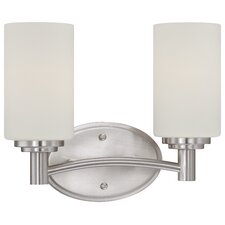 Pittman 2 Light Bath Vanity Light